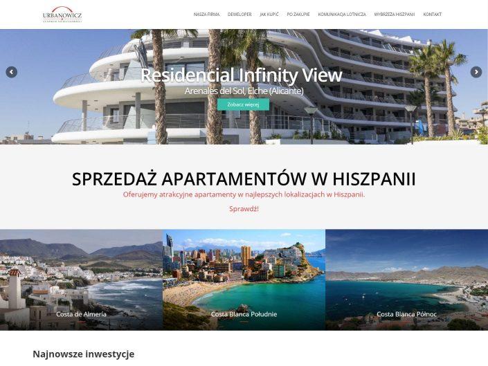 strona internetowa www dla apartamenty w hiszpanii